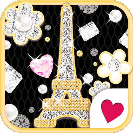 かわいいきせかえ壁紙★jewelry Paris 個人化 App LOGO-硬是要APP