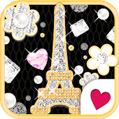 Cute wallpaper★jewelry Paris