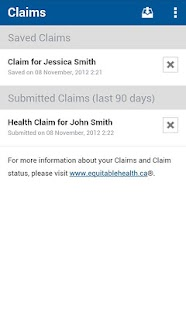 Equitable EZClaim Mobile - screenshot thumbnail