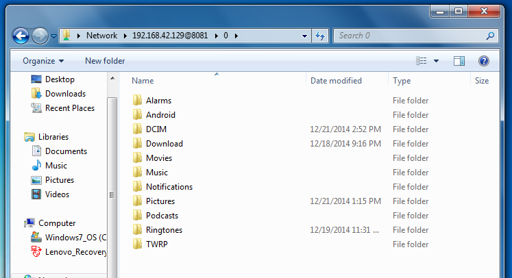 MTP-Alternative USB Drive- screenshot