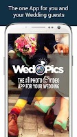 Screenshot of WedPics - Wedding Photo App
