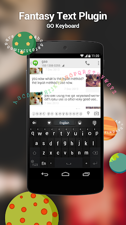 GO Keyboard Fantasy Fonts,Text 3.1 screenshot 243968