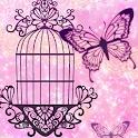 Dreamy butterfly [P-02E] logo