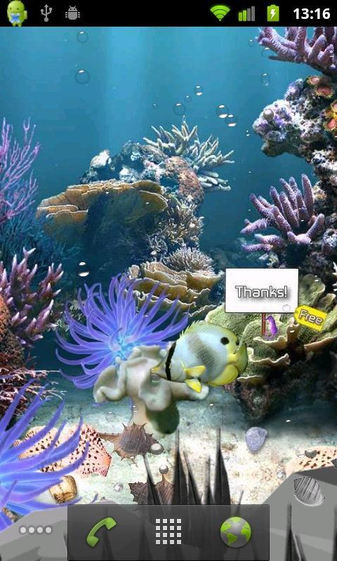 Coral Reef Lite Free Aqua Live- screenshot