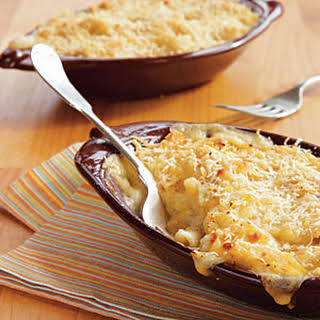 Three-Cheese Baked Penne.