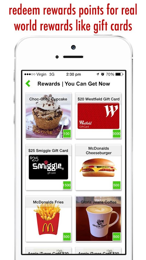 real rewards apps walking