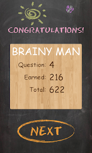 Brainy Man - Trivia Hangman- screenshot thumbnail