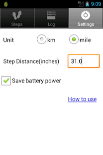 Walkroid - simple pedometer - screenshot thumbnail