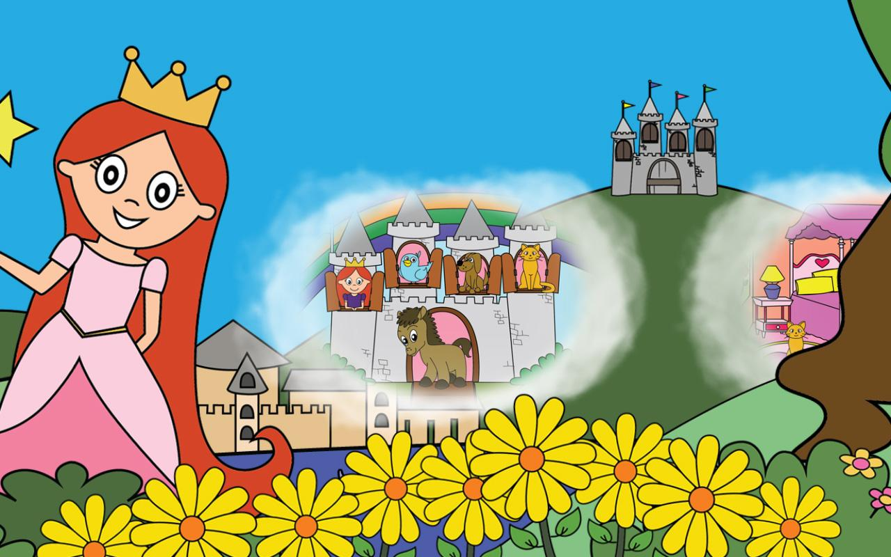 Princess Games for Girls Games Free Kids Puzzles- screenshot