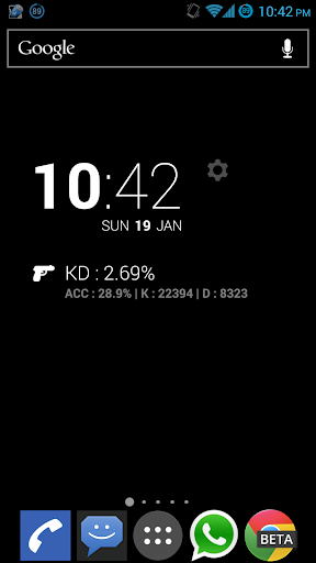 CS:GO Stats DashClock Free