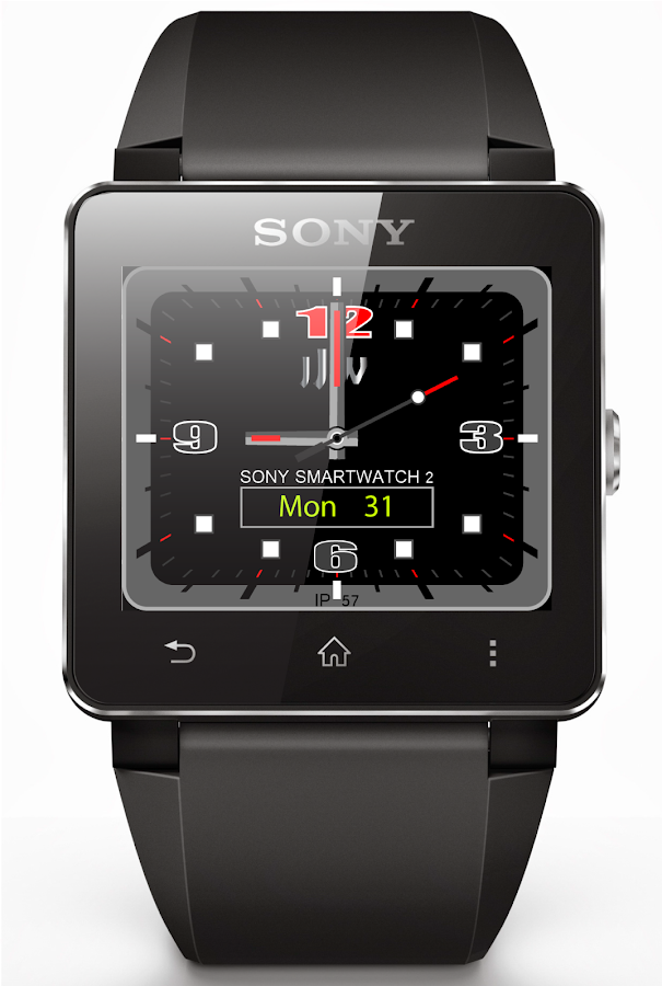 JJW Tech Watchface 1 SW2- screenshot