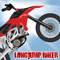 Long Jump Biker Free logo