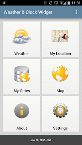 Weather & Clock Widget Ad Free v2.5.3.1