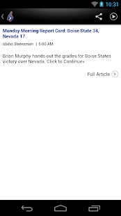 Boise State Broncos News - screenshot thumbnail