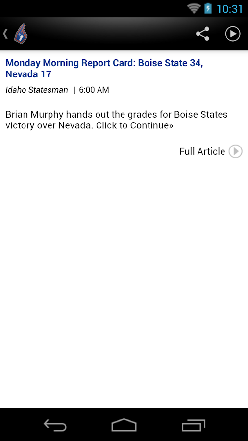 Boise State Broncos News - screenshot