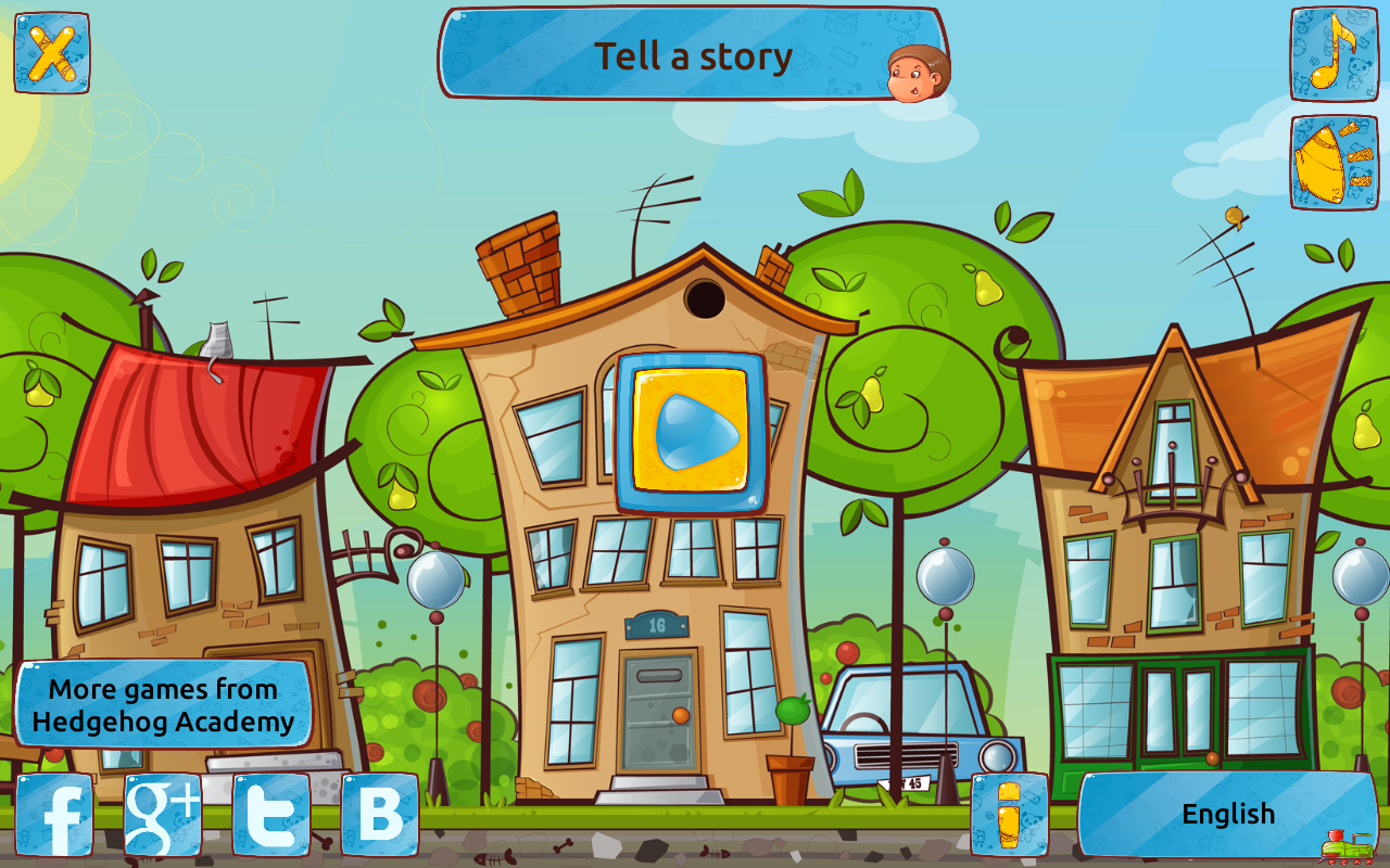 Tell a Story - Game to Train Speech & Logic Free- screenshot