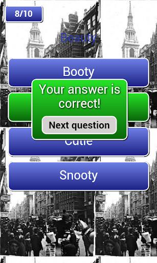 Cockney Quiz Free