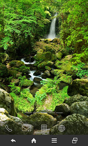 日本の渓流