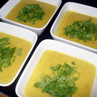 Carrot Coconut Lime Soup.