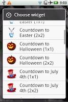 Screenshot of Countdown to Halloween