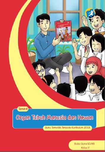 Buku Guru Kelas 5 Tema 6 Kur13