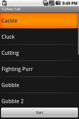 Turkey Calls- screenshot