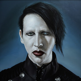 M.M. look by Alexandru Racu - Painting All Painting ( marilyn manson )