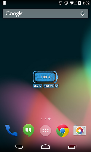 [Battery Theme] Grunge Blue
