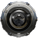 Clock Widget Silver Diamond icon