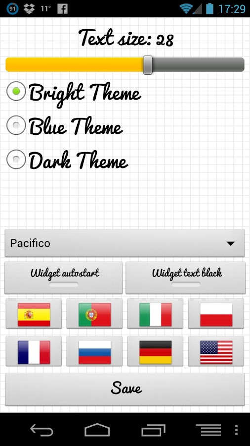 Shopping List Voice Memo Pro - screenshot