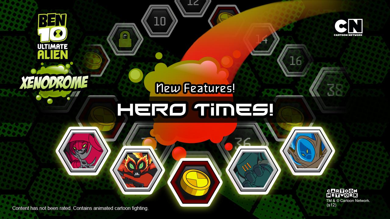Screenshots of Ben 10 Xenodrome for iPhone