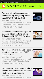 Relaxing Baby Sounds - screenshot thumbnail