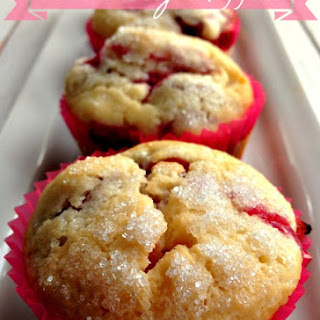 Sour Cherry Muffins.