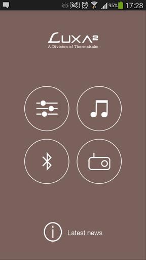 Luxa2 Groovy Audio Center
