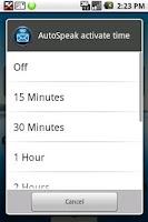 Screenshot of HandsFree SMS Trial