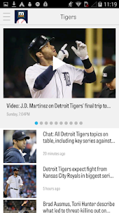 MLive.com: Detroit Tigers News - screenshot thumbnail