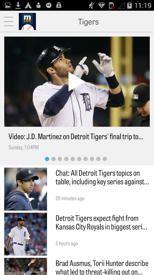 MLive.com: Detroit Tigers News- screenshot