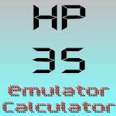 HP-35 Emulator Calculator.