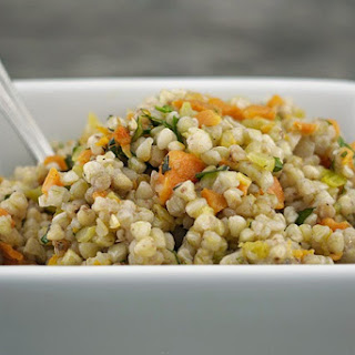 Buckwheat Groat & Carrot Salad