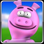 Pink Pig Rush 3D