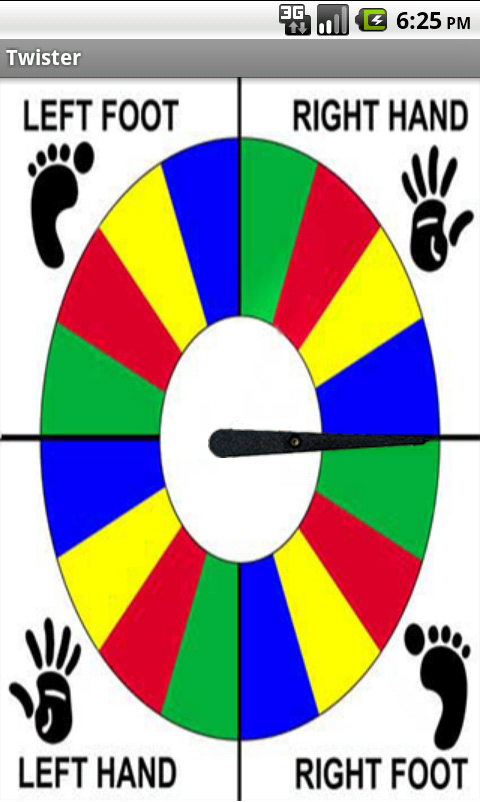 Twister Game Spinner Template Free Download Programs Letitbithigh