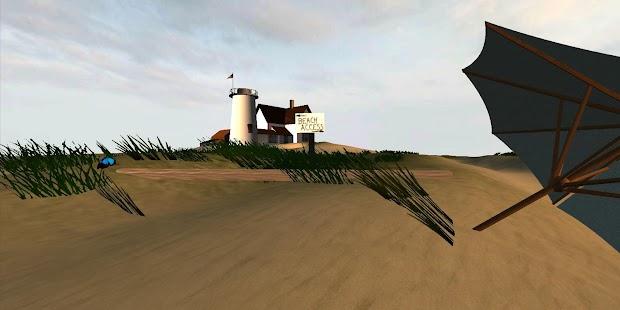 Beach for Google Cardboard - screenshot thumbnail
