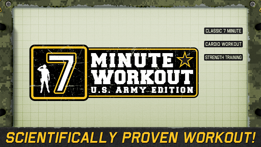 7 Minute Workout - ARMY FREE