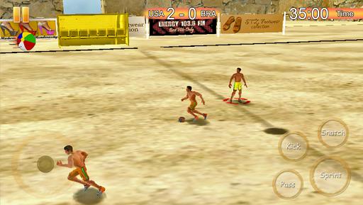 玩沙灘足球比賽2015年