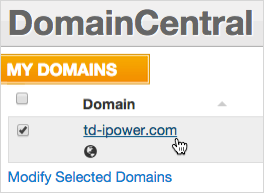 Domain link