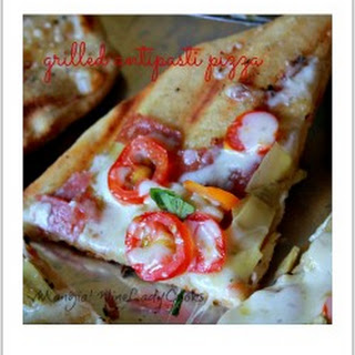 Grilled Antipasti Pizza