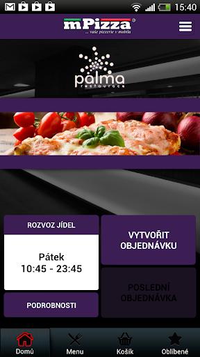 restaurace Palma-rozvoz pizzy