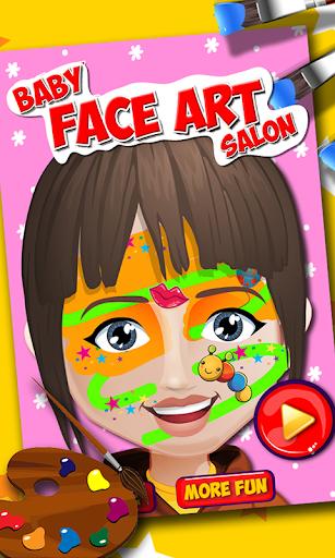 Baby Face Art Christmas Makeup