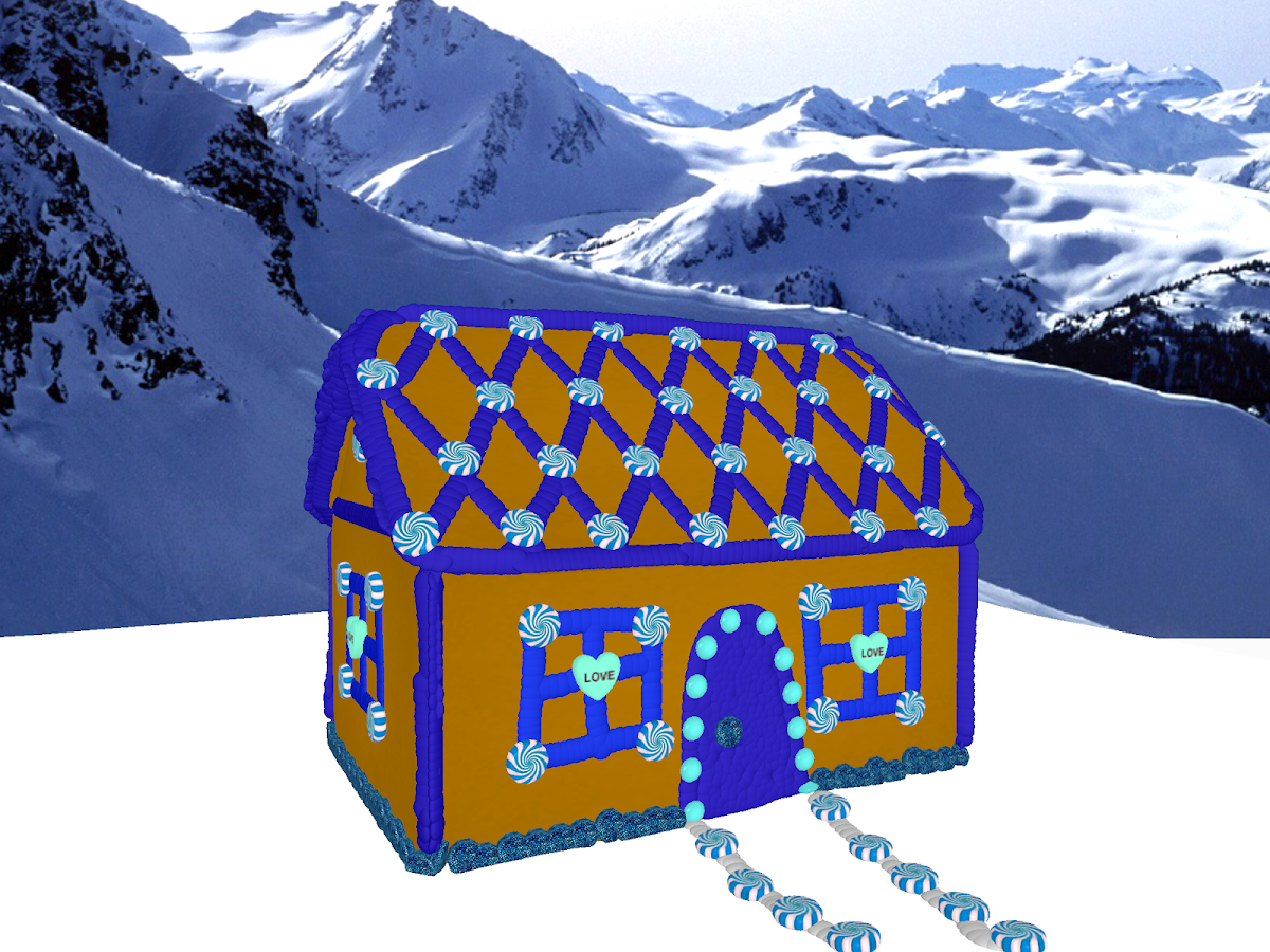 Gingerbread house maker 3d android apps on google play for 3d house maker