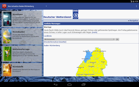 Wetterwarner Pro screenshot 8